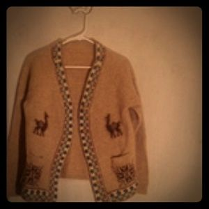 Native South American cardigan